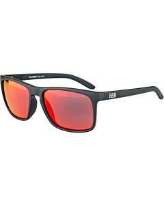 BBB Town Sunglasses Matt Black/Red