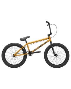 Kink Curb BMX Bike Matte Orange Flake (2021)