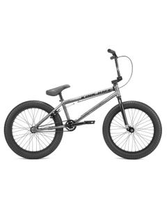 """Kink Curb BMX 20"""" Matte Brushed Silver 2022"""