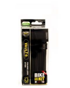Lock Vault Folding Key Black 750 x 4 w Bike ID Kit