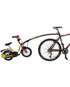 Trail Gator Tow Bar Trailer Bike Black