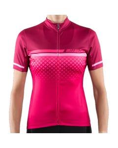 Bellwether Gradient Short Sleeve Women's Jersey Ruby