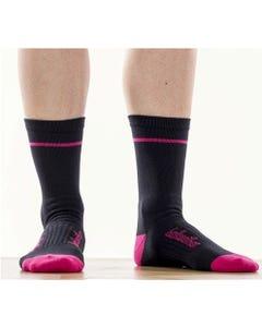 Socks Bellwether Optime Black/Berry