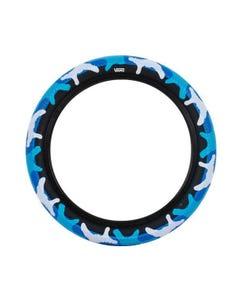Cult Vans BMX Tyre 20 x 2.40 Blue Camo/Black