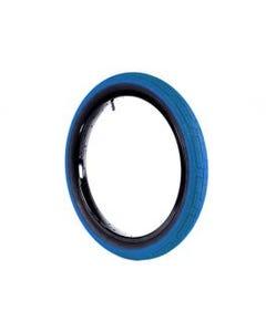 Colony Grip Lock BMX Tyre 20 x 2.20 Blue/Black Wall