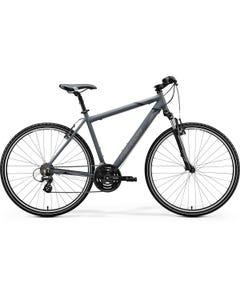 Merida Crossway 10V Hybrid Bike Matt Dark Grey/Black/Grey (2020)