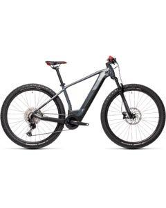 Cube Reaction Hybrid Race 625 Electric Mountain Bike Grey/Red (2021)