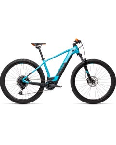Cube Reaction Hybrid Pro 400 Electric Mountain Bike Petrol/Orange (2021)