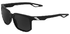 100% Centric Sunglasses Matte Black/Smoke Lens