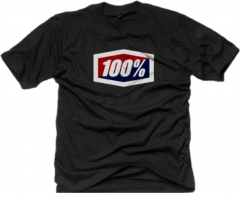 Jersey SS 100% Official T-Shirt Black