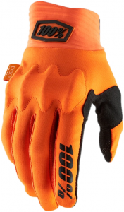 Gloves FF 100% Cognito D30 Fluo Orange/Black