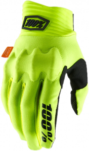 Gloves FF 100% Cognito D30 Fluo Yellow/Black