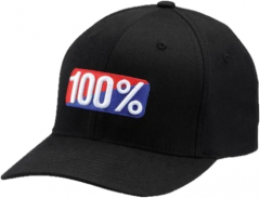 Headwear 100% CLASSIC X-Fit FlexFit Hat Black