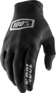100% Celium 2 Gloves Black/Silver