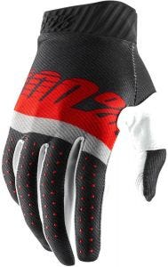 100% Ridefit Gloves Steel Grey