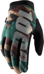 Gloves FF 100% Brisker Camo/Black