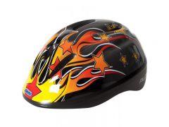 Netti Pilot Flame Kids Helmet (Black) | 99 Bikes