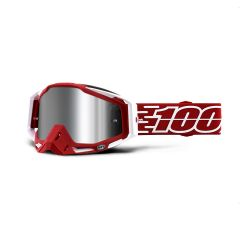 Goggles 100% Racecraft + Gustavia Inj Sil Flash Mirror Lens