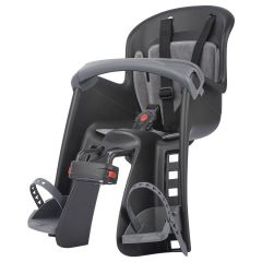 Baby Seat Polisport Bilby Junior FHT Dark Black/Dark Grey