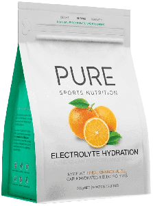 PURE Sports Nutrition Electrolyte Hydration Orange 500g