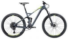 Apollo Trail D 10 Mountain Bike Matte Charcoal/Lime (2020)