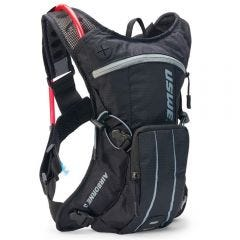 USWE Airborne 3 Hydration Pack 2.0L Elite Black/Grey