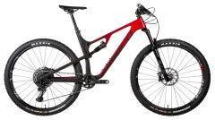 Norco Revolver 1 120 FS Mountain Bike Black/Red Fade (2020)