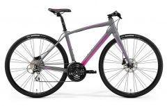 Merida Speeder 100 Womens Flat Bar Road Bike Grey/Pink/Purple (2020)