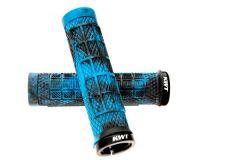 Ryfe BOSSA Single Lock On Pro Grips Marble Blue/Black