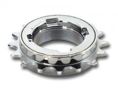 "Freewheel 1/8""x 16T Silver ""EZ-Off"" CNC Machined"