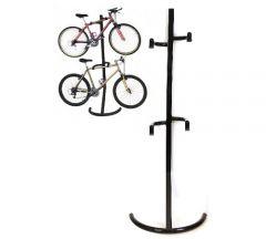 Storage 2 Bike Tree Stand