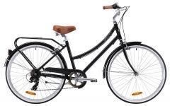 Pedal Uptown DLX Cruiser Bike Black