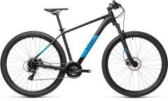 Cube Aim Pro 27.5 Mountain Bike Black/Blue (2021)
