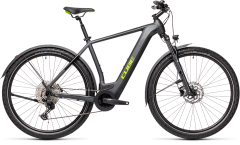 Cube 21 Cross Hybrid Pro 500 Allroad iridium n green