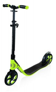 Globber One NL 205 Scooter Lime Green/Dark Grey