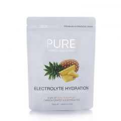 PURE Sports Nutrition Electrolyte Hydration - Pineapple 500g | 99 Bikes