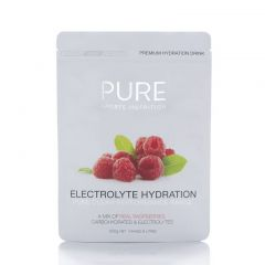 PURE Sports Nutrition Electrolyte Hydration - Raspberry 500g | 99 Bikes