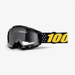 100% Accuri Goggles Clear Lens Pistol