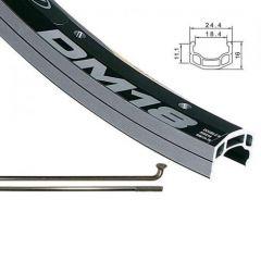 Alex DM-18 27.5 Front Wheel silver