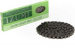 Izumi Black Fixie Single Speed Chain 1/2 x 1/8 116 link