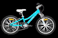 Pedal Zap 20 Girls Mountain Bike Aqua/White
