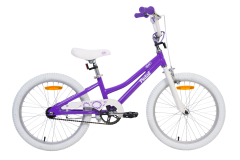 Pedal Bam Alloy Girls Purple White 20in
