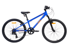 Pedal Crush Boys Bikes Blue/Orange
