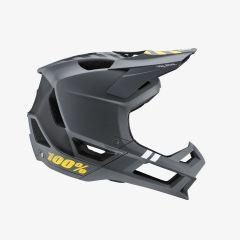 Helmet Fullface 100% Trajecta Charcoal SM