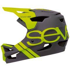Helmet Fullface Seven 7iDP Project23 ABS Grey/Yellow