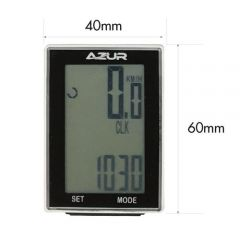 Azur Wireless 15 Function Cycle Computer | 99 Bikes