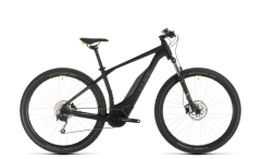 Cube Acid Hybrid ONE 400 Electric Hybrid Bike Black/Green (2020)