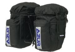 Azur Commuter Rear Pannier Bag Set | 99 Bikes
