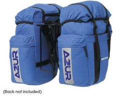 Azur Commuter Pair Pannier Bag Blue
