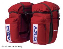 Azur Pannier Bag Pair Red